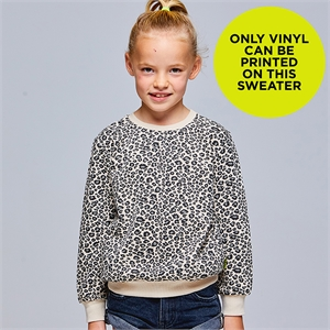 RICKI VANILLA 6-12 YRS SWEATER BLANK