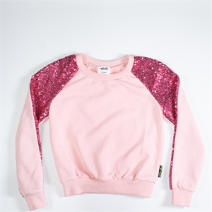 EVIE PINK 6-12 YRS SWEATER BLANK