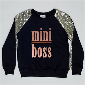 EVIE MINI BOSS ROSE GOLD METALLIC