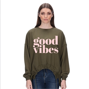 Aneka Good Vibes Blush Pink
