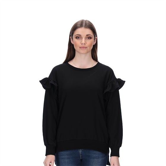 EMILY BLACK SWEATER BLANK