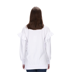EMILY WHITE SWEATER BLANK